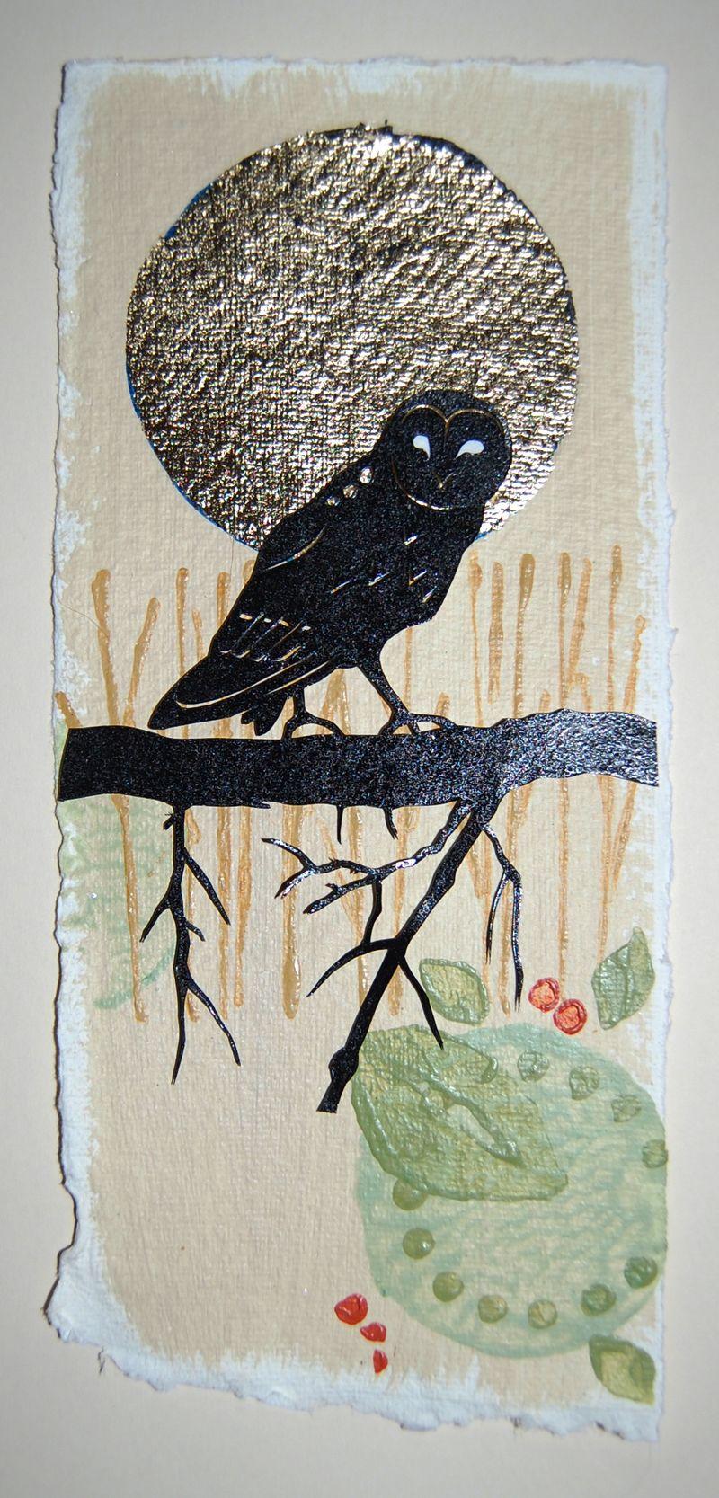 Owlundergoldenmoon